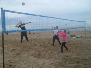 trainingen beachvolley