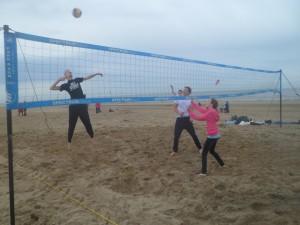 trainingen beachvolley